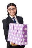 Man with shopping bags Royalty Free Stock Photos