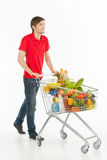 Man shopping. Stock Photography