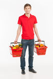 Man shopping. Royalty Free Stock Photos