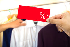 Man shopping Royalty Free Stock Image
