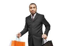 Man shopping Stock Photo