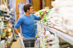 Man shopping store Royalty Free Stock Images