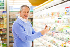 Man shopping Royalty Free Stock Photography
