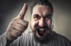 Man shouting Stock Photos
