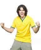 Man shouting of emotion Royalty Free Stock Image