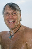 man showering Στοκ Εικόνα