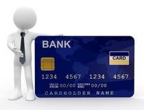 Man showing credit card Royalty Free Stock Image