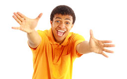 Man showing thumbs up Royalty Free Stock Photography