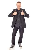 Man showing thumbs up Stock Photo