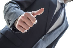 Man showing thumbs up gesture Stock Image