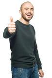 Man showing thumbs up Stock Photos