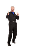 Man showing thumbs up Royalty Free Stock Photos