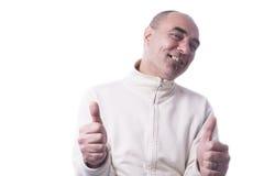 Man showing thumbs Royalty Free Stock Image