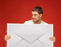 Image result for business person holding an envelope