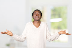 Man shrugging shoulders Royalty Free Stock Photos