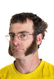 Man with Sideburns Stock Image