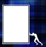 Man Sign Stock Image