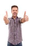 Man signaling ok Royalty Free Stock Image