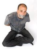 Man silenced Stock Image