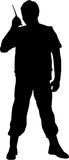 Man Silhouette Royalty Free Stock Photo