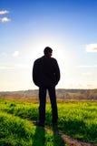 Man silhouette Stock Photos