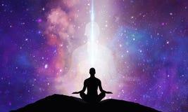 Spiritual energy healing power, conscience awakening, meditation, expansion