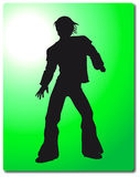 Man silhouette Illustration Royalty Free Stock Photos