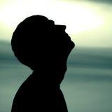Man Silhouette Royalty Free Stock Image