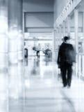 Man silhouette walking Stock Image