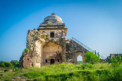 Man Singh Haveli in Rohtas Fort Stock Image