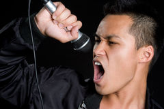 Man Singing Stock Images