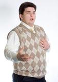 Man sings Stock Photos