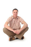Man sitting Royalty Free Stock Photography