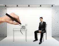 Man sitting Stock Image