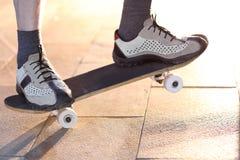 Man on skateboard Royalty Free Stock Photos