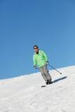Man On Ski Holiday Stock Photography