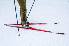 Man skiing Royalty Free Stock Photos