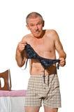 Man at skirt-board 3 Stock Photography