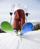 Man on skis. Royalty Free Stock Photo