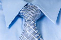 man skjortan för slips s Arkivbild