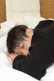 Man sleep Royalty Free Stock Photo