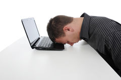 Man sleeping Royalty Free Stock Photo