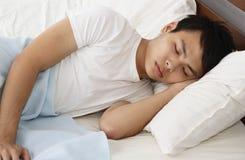 Man sleeping Royalty Free Stock Images