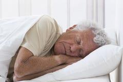 Man sleeping Stock Image