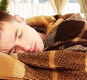 Man sleeps Royalty Free Stock Image