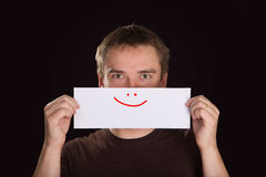 Man with a smile Royalty Free Stock Images