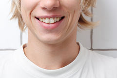 Man smiling Stock Photo