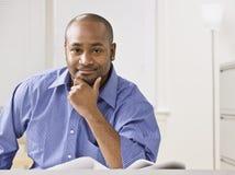 Man Smiling at Camera Royalty Free Stock Image