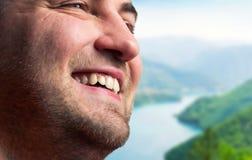 Man smiling Stock Image