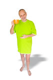 Man Smiling with a Cup of Coffee Royalty Free Stock Images